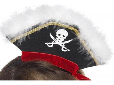 Mini-palarie de pirat