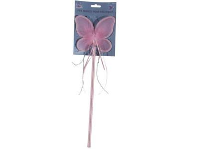 Bagheta roz de zana fluturas
