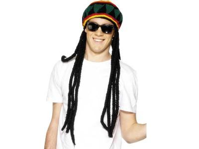 Caciula cu plete rastafarian 2