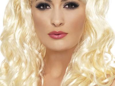 Peruca Sirena blonda