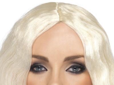 Peruca Superstar blond platinat