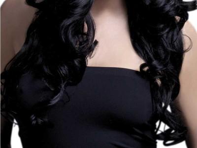 Peruca Fever - Rhianne neagra lunga