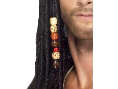 Peruca de pirat rastafarian