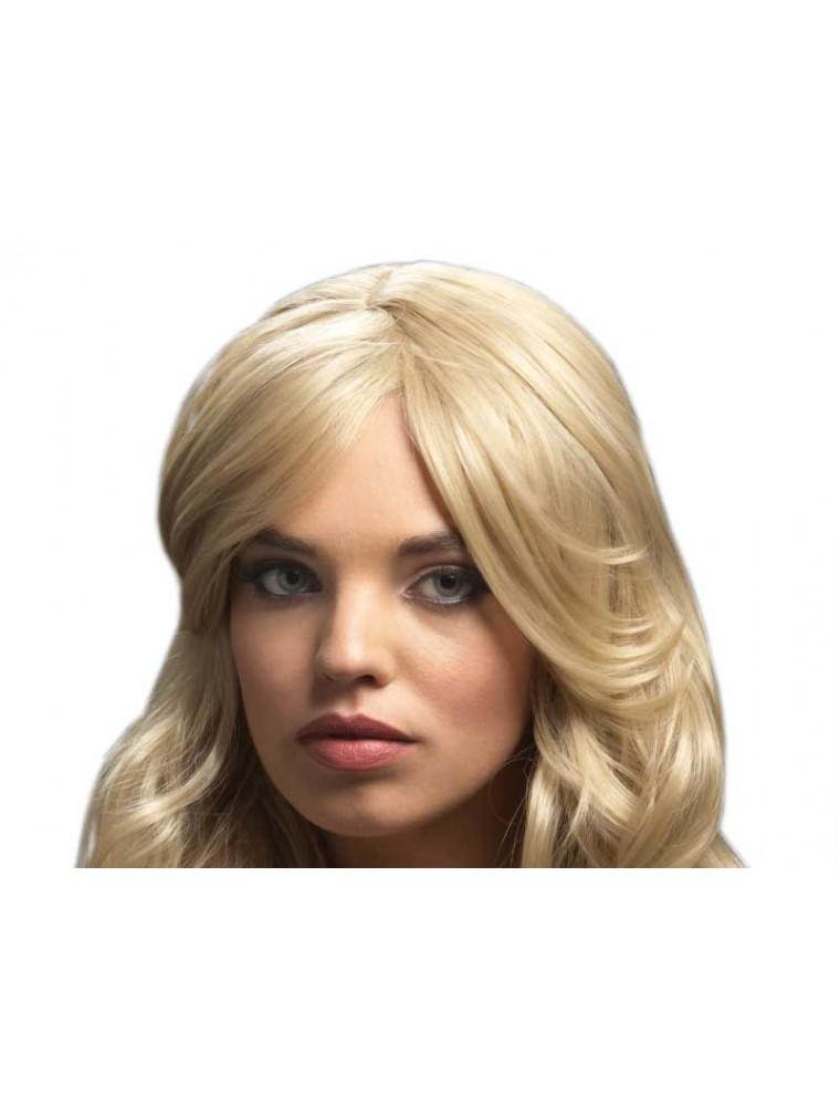 Peruca Fever Nicole Blond Inchis