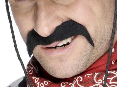 Mustata neagra de cowboy