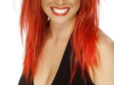 Peruca Rock Diva rosie