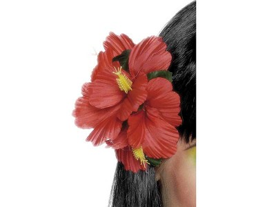 Floare rosie hawaii