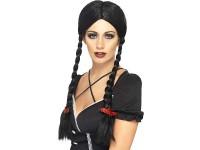 Peruca Gothic Schoolgirl neagra
