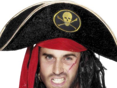 Palarie de pirat - bicorn