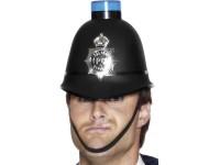 Casca de politist britanic cu girofar