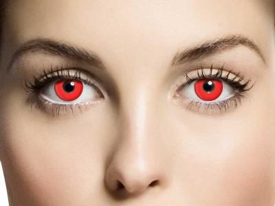 Lentile de contact Red Devil