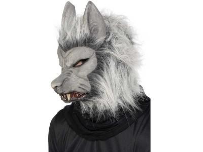 Masca lup argintiu