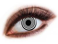 Lentile de contact Black Spiral