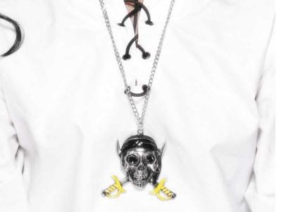 Medalion metal pirat