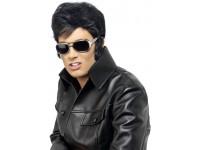 Ochelari Elvis cu rama argintie