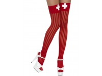 Ciorapi rosii de asistenta medicala