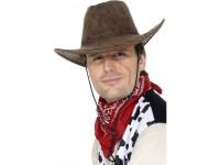 Palarie maro cowboy