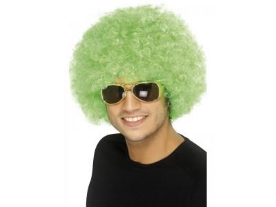 Peruca Funky afro verde