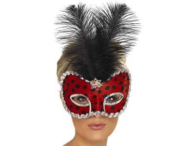 Masca venetiana Ladybug