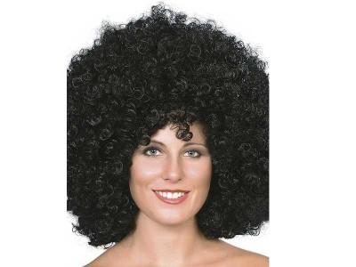Peruca Afro Mega-Huge neagra