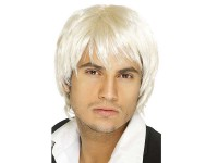 Peruca Boy Band blond platinat