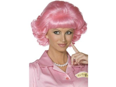 Peruca Frenchy roz