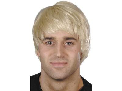 Peruca Guy blond deschis