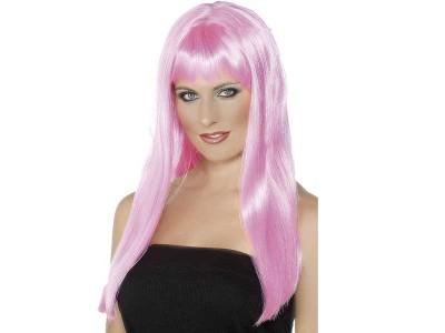 Peruca Mystique roz
