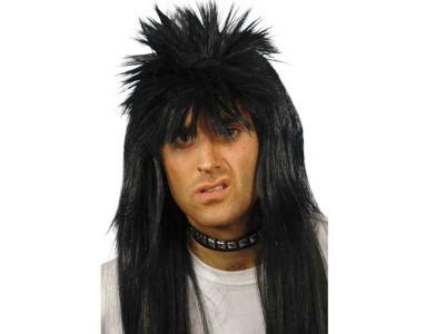 Peruca Rocker Punky neagra