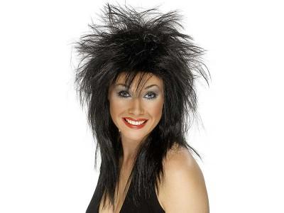 Peruca Rock Diva neagra
