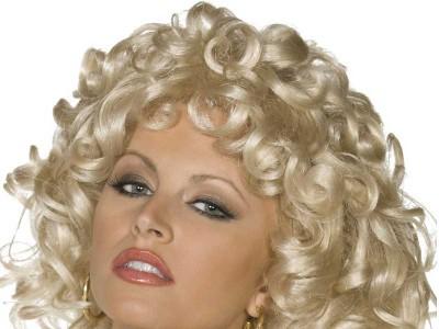 Peruca blonda Sandy
