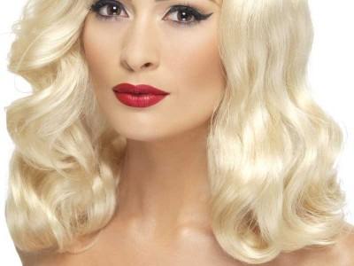 Peruca Luscious blonda