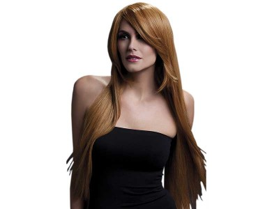 Peruca Fever - Amber castanie lunga