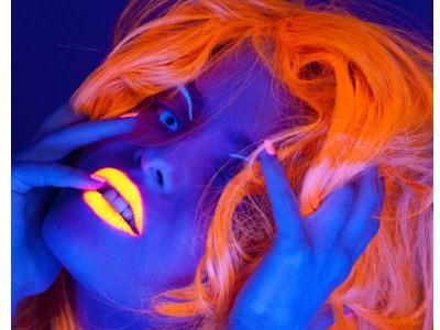 Ruj UV Portocaliu - PaintGlow UK