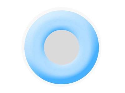 Lentile de contact Frosty Blue