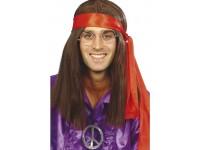 Medalion hippie metal masiv