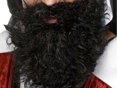 Barba neagra de pirat deluxe