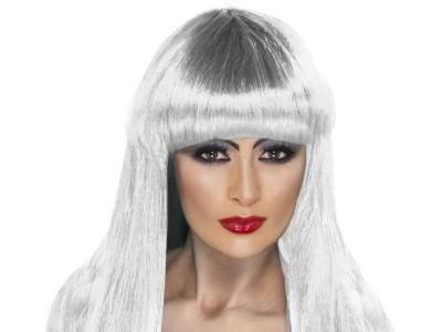 Peruca Glamour Witch alba