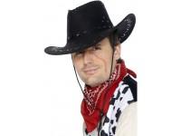 Palarie de cowboy neagra